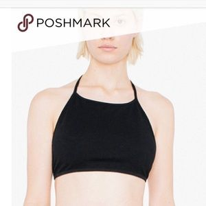 American Apparel halter crop top